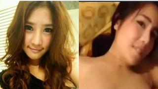 [臉部認正!]泰國女演員和有錢人性愛影片流出 兩顆不停上下的晃~