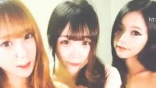 [好想淫韓國] 三位韓國妞粉紅奶頭視訊主播,這麼撩人的姿勢,忍不住都要尻起來了