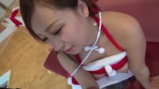 [啪啪啪研習所!]最高級的聖誕女郎!毛毛剃光光準備生產你的禮物!