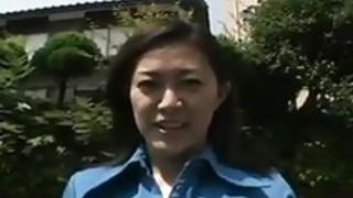 日本のヴィンテージ屋外マダム