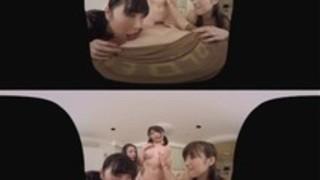 【市川まさみ桐谷まつり飛鳥りん古川いおり】SODstarによる迫力のVRアダルト動画!ハーレム騎乗位SEXで中出しwww
