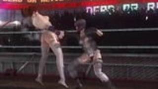 草薙元子対カスミデッドorアライブ5ラストラウンド