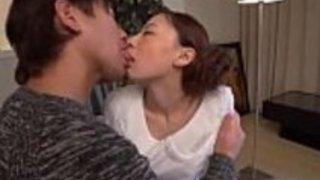 日本の十代のかわいい女の子のファック