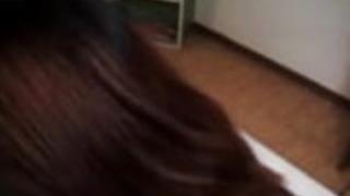 無修正日本のポルノ女優Eir上野熱いフェラチオ