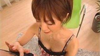 茶髪のかわいこちゃんが、主観でフェラしてくれたのでおもわず顔射素人|イクイクXVIDEOS日本人無料エロ動画まとめ