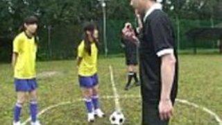 ENF CMNF日本語ヌーディストサッカーペナルティゲームHD HD