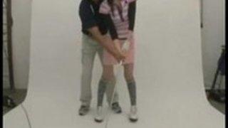 可愛いスレンダー巨乳娘がゴルフレッスンに来たので19番ホールの使い方を教えてあげた|イクイクXVIDEOS日本人無料エロ動画まとめ