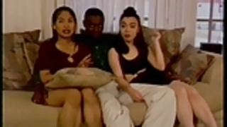 ブラックコッククソ2アジアの女の子、さとみ&ビビアン