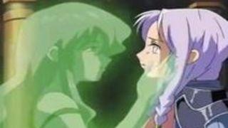 エロアニメ 貧乳 イラマチオ 触手 イラマ