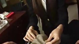 日本のオフィスレディ無修正フェラチオ