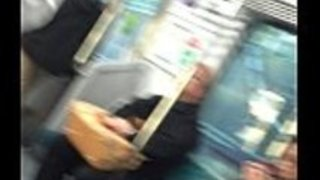 パンティストッキング日本列車7