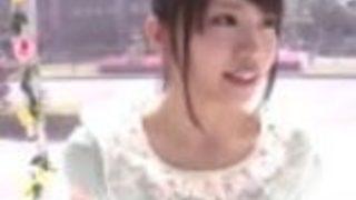 【木下寧々】清純系の巨乳女子大生が、マジックミラー号で人生初の3P連続イキSEX